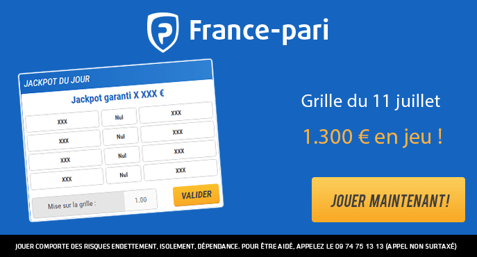 france-pari-grille-11-juillet-premier-10-football-europeen-1300-euros