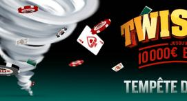 Twister chez Everest Poker : Jusqu'à 10.000 euros de gains !