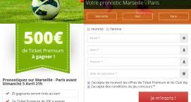 Exclu RDJ : Concours de Pronostic sur OM-PSG - Remportez 500€