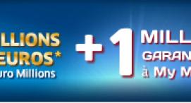 Au moins 15 rmillions d'euros vendredi 15 mai à l'EuroMillions  ! Tentez votre chance avec les 15 € offerts par la FDJ !