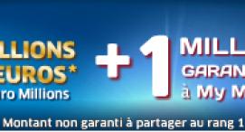 30 millions d'euros mardi 5 mai  ! Tentez votre chance avec les 15 € offerts par la FDJ !