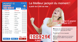 Plus de 125.000 euros de gains sur les grilles France Pari du weekend !