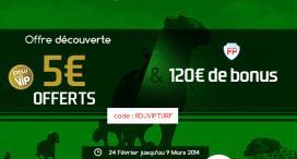 EXCLUSIF RDJ : 5€ offerts pour découvrir les paris hippiques chez France Pari