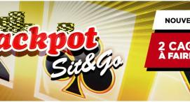 Jackpot Sit & Go Everest Poker - 2 cagnottes à faire tomber