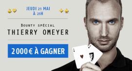 Défiez Thierry Omeyer ce soir sur PMU Poker !