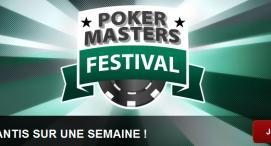 Poker Masters Festival : 275000€ garantis cette semaine !