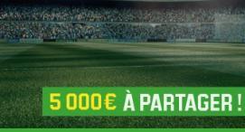 2e semaine du Challenge Football - 5000 € à gagner sur Unibet !